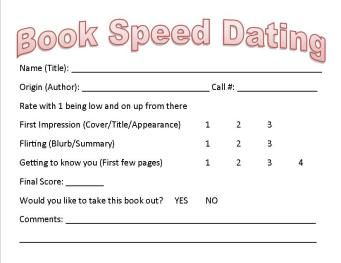 good speed dating topics Speed-dating questions speed-dating questions created date: 8/19/2012 4:26:03 pm.