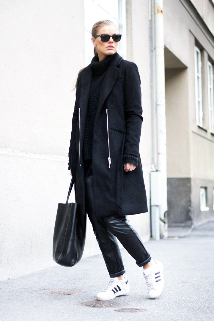 qygpm 1000+ ideas about Adidas Superstar All Black on Pinterest