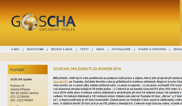 GOSCHA spolek