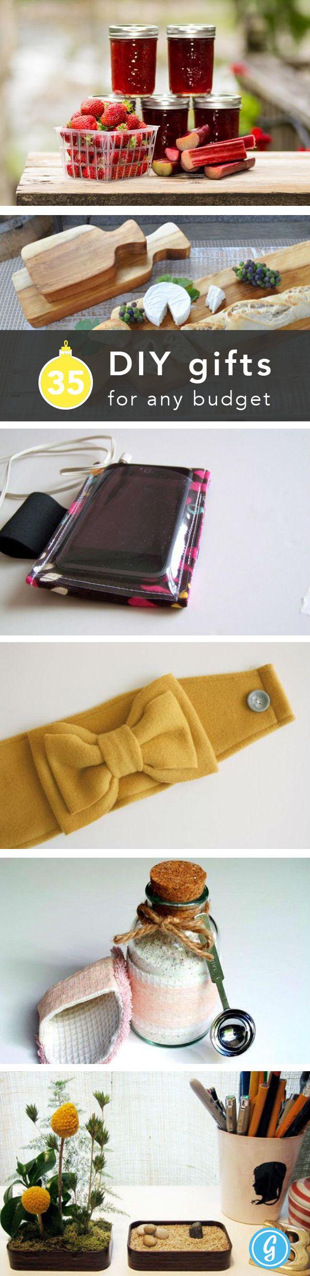 35 DIY gift ideas