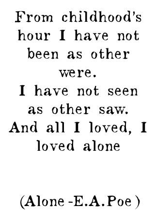 Edgar Allen Poe. One of the best writers of all time