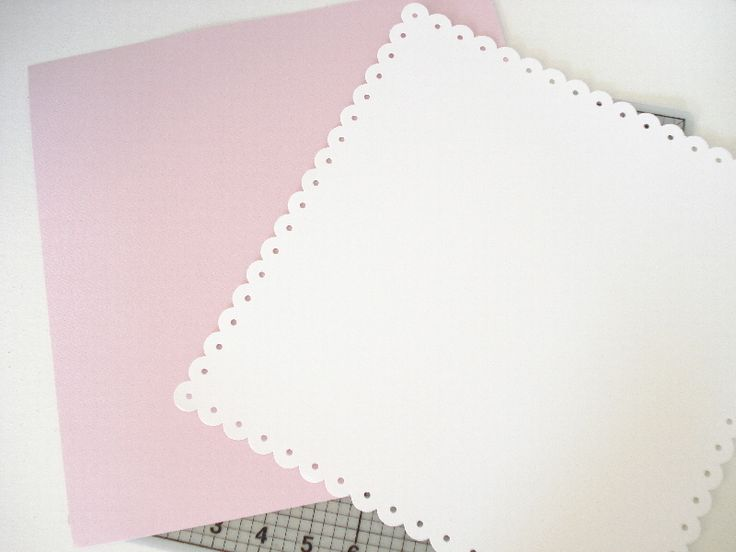 台紙は12インチ×12インチのサイズです。