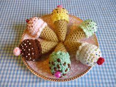 Party Treat Food Amigurumi Crochet Pattern pattern by Janine Holmes