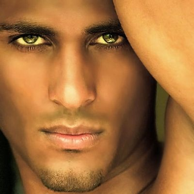 The Very Thought Of Him.  Such beautiful skin tone and those eyes....and God created man... yes He did!  :)