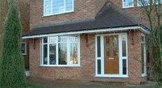pictures of brick front porches uk - Google Search