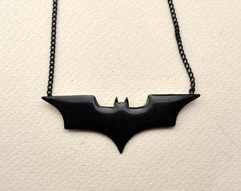 Polymer Clay Batman Jewelry Charm Classic Batman by OhLuckyCharm