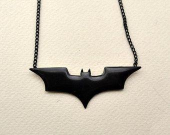 Polymer Clay Batman Jewelry Charm Classic Batman by OhLuckyCharm