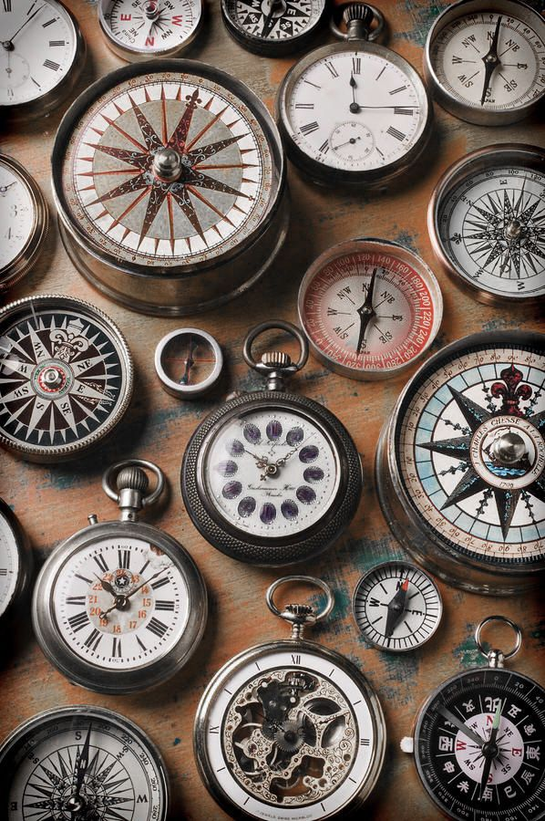∷ Variations on a Theme ∷  Collection of compasses