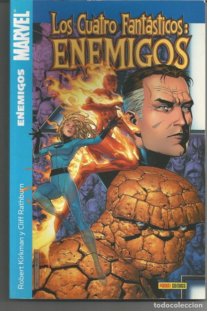 Los 4 Fantásticos: Enemigos Panini Cómics