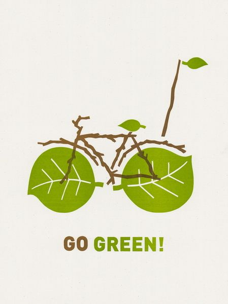 Go Green! by Dirk Fowler | Reppined by @Laura Natiello