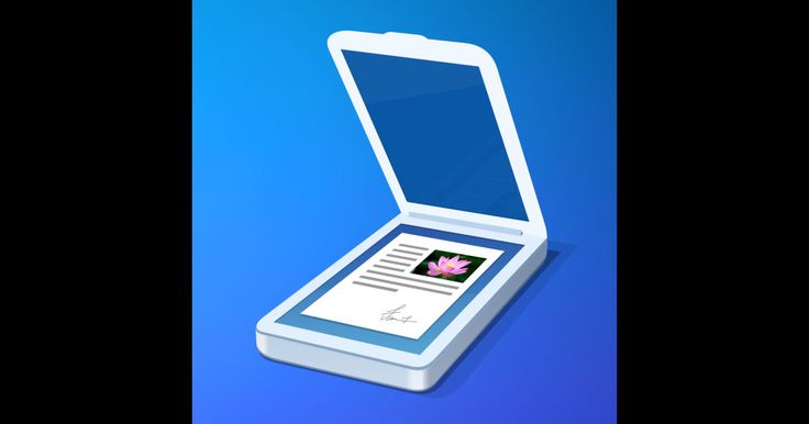 Scanner Pro allows you to take a picture of a document or receipt and save it as a PDF