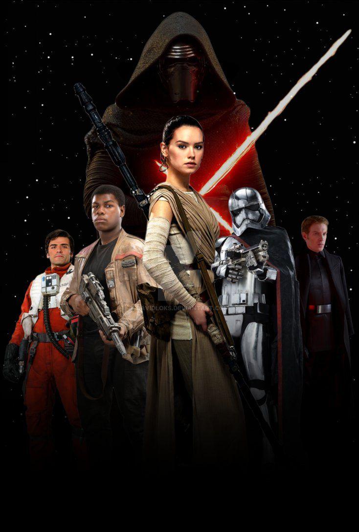 Star Wars: The Force Awakens Poster (FM) by DavidLoks