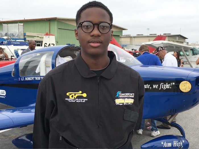 Isaiah Cooper is a 16-year-old from Compton, California and he just made history as the youngest black person to fly solo over the continental United States. Starting his journey on July 5th, Isaiah flew a total of 8,000 miles in 13 days. And the journey was not smooth sailing the whole way. In Wyoming, Isaiah experienced