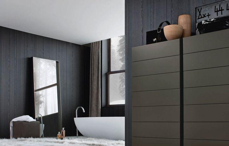 Wall mirror / contemporary / rectangular - SARA by Flaviano Capriotti - Poliform