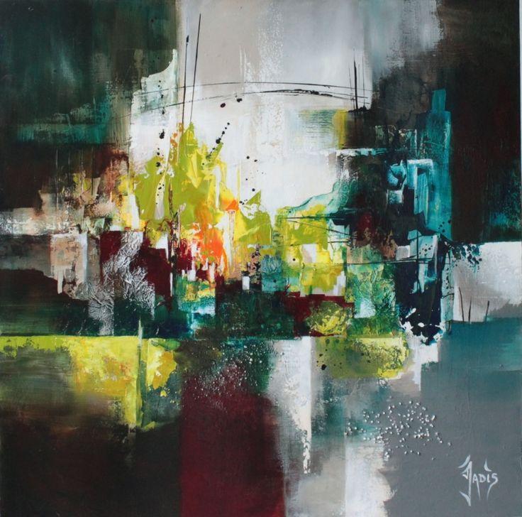 Artiste peintre abstrait peintres abstraits pinterest for Peintres abstraits