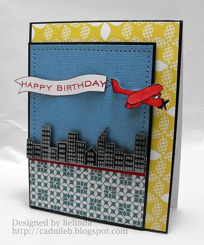Birthday Card by Belinda Chang Langner