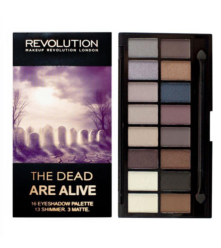 Makeup Revolution The Dead, Are Alive Palette