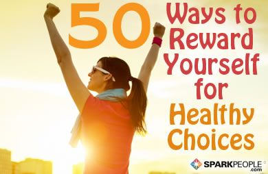 Celebrate your weight-loss success the healthy way with these fun and motivating incentives.� via @SparkPeople
