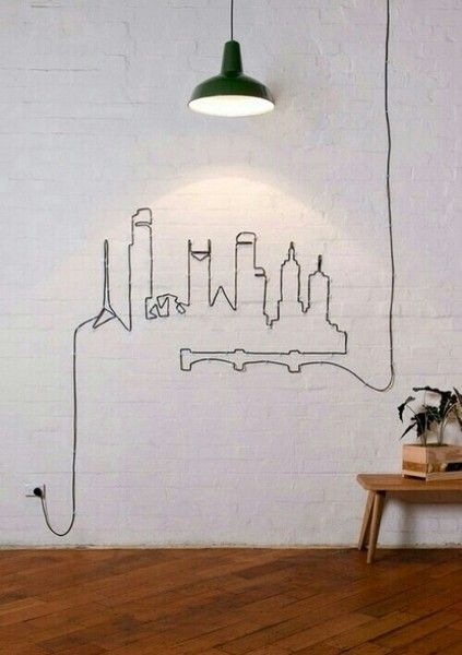 Hidden Wires - Pinterest Predicts the Top 10 Home Trends of 2016 - Photos