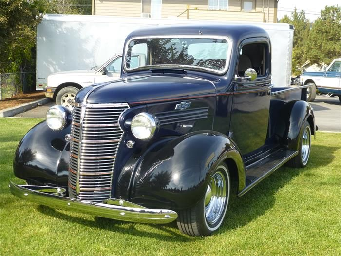 1938 chevrolet 1 2 ton pickup for sale cc 581889 classic trucks. Black Bedroom Furniture Sets. Home Design Ideas