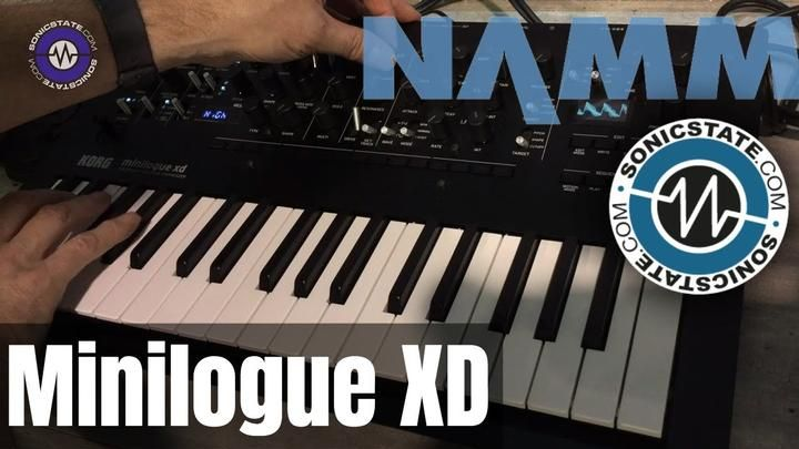 NAMM 2019: Korg Minilogue XD Sounds Only | Audio (Feedly) in