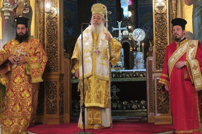 """О закону """"о слободној промени пола"""" који су усвојили грчки посланици у својој проповеди је говорио и Фиотидски митрополит Николај, преноси портал Agio..."""