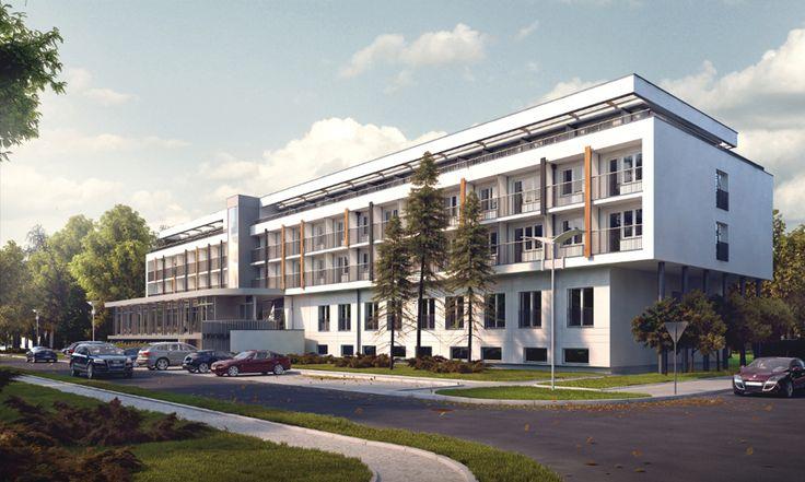 ARCHITECTURE PROJECT / Hotel KORAL Kołobrzeg by EC-5 Architects