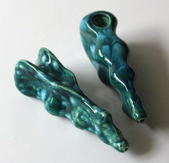 Wonderful Cool Pipes Part - 7: Dragon Head Ergonomic Tobacco Pipe By MudHedz On Etsy