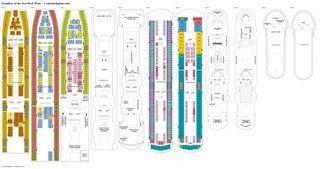Grandeur of the Seas deck plans