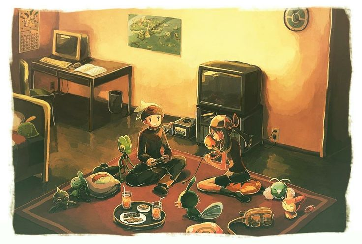 pokemon sketch (not mine)