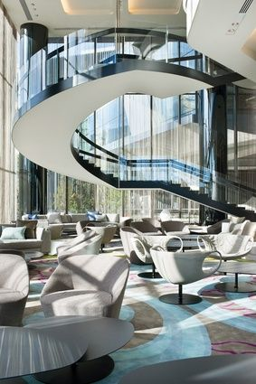 Crown Metropol Hotel Melbourne designed by Bates Smart Melbourne
