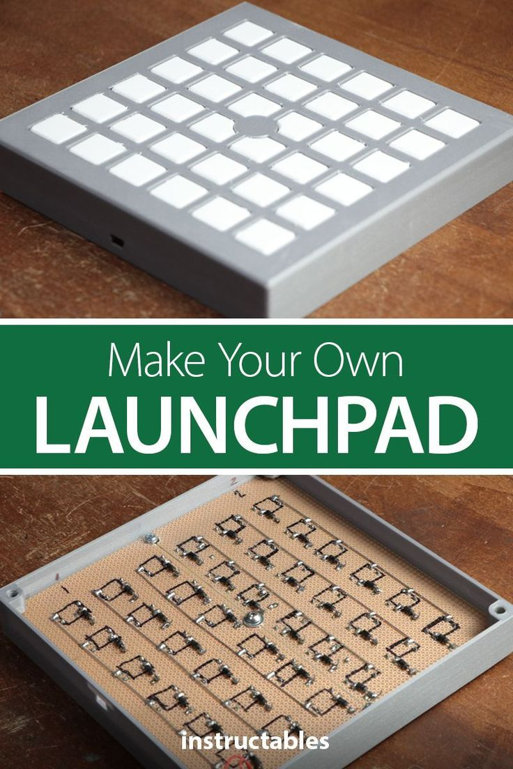 Create Your Own Launchpad From A Design Idea That Incorporates 3d Prints Ws2812 Leds Tactile Switches And An Ar Arduino Electronics Projects Arduino Projects [ 1104 x 736 Pixel ]