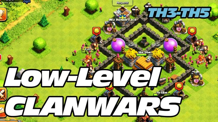 Clash of Clans - Low Level Clan Wars (TH3, TH4, TH5)