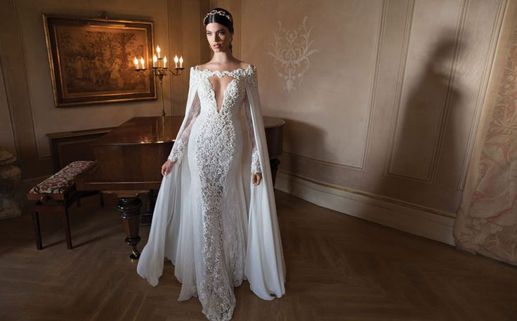 A Glamorous Entrance | Berta Bridal 2015 Couture Gowns | Strictly Weddings