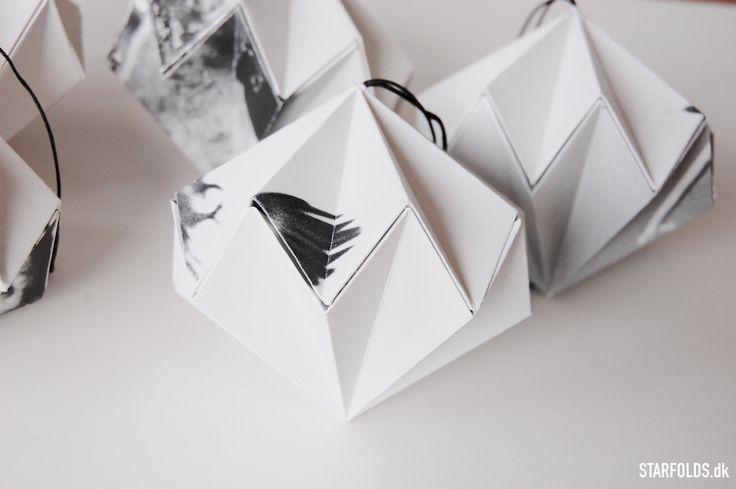 DIY Paper diamont - Starfolds.dk