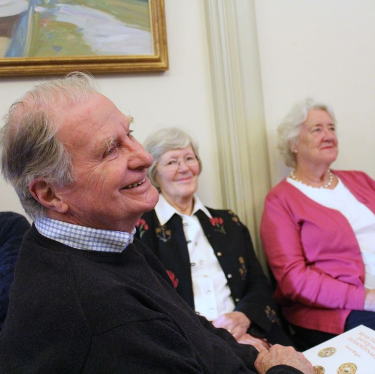 Members of the Godfrey-Faussett family at the launch.