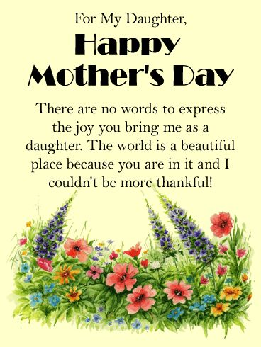 10 best Mother's Day Cards for Daughter images on ...
