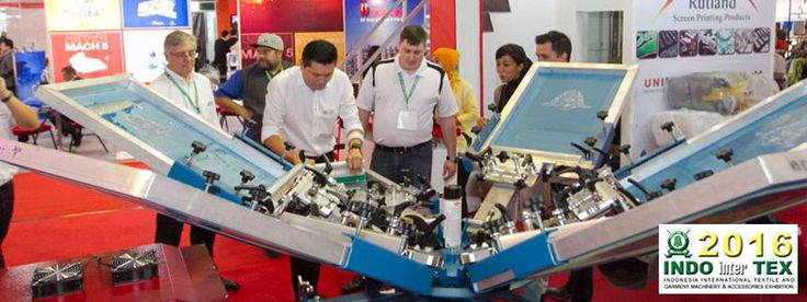The 14th Indonesia International Textile and Garment Machinery & Accessories Exhibition. #expoindonesia