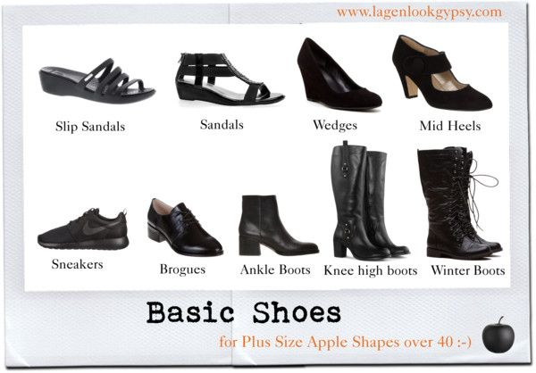 Basic Shoes for Plus Sizes over 40
