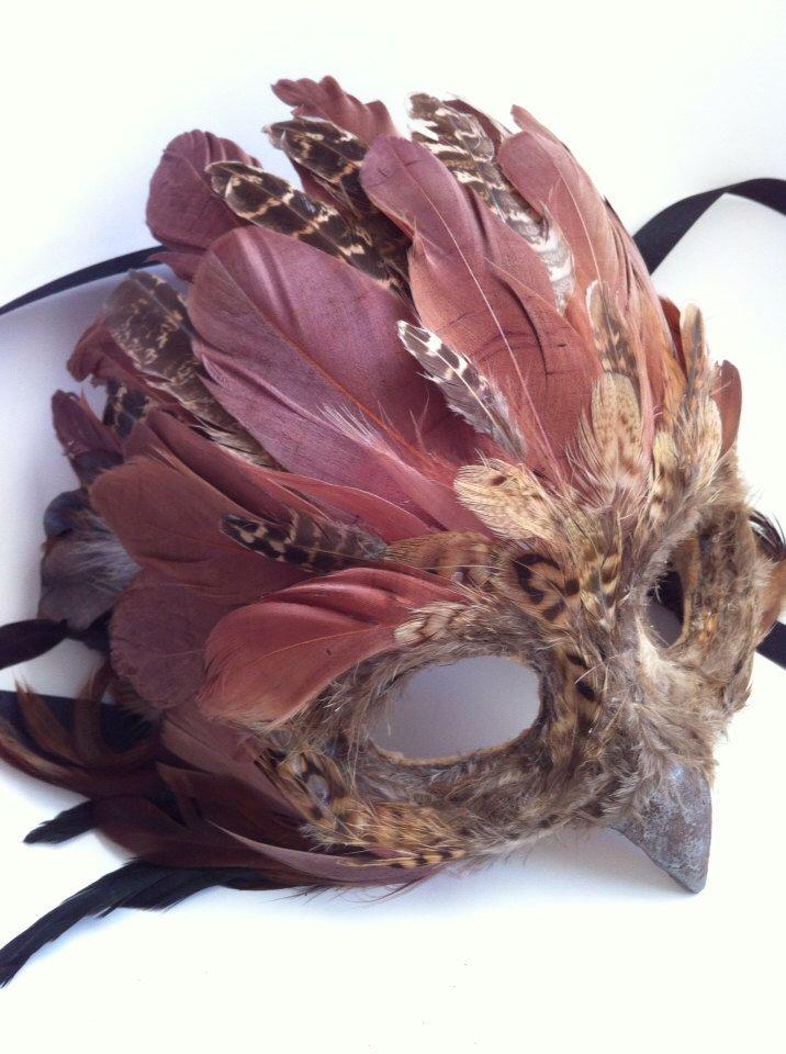 Braun Baum Owl - Specialty benutzerdefinierte Tiermasken von MaskedEnchantment auf Etsy https://www.etsy.com/de/listing/167486336/braun-baum-owl-specialty