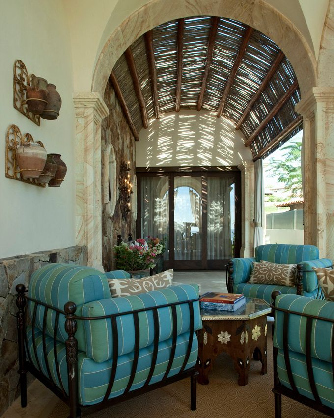 Mexican style mexican interior design ideas pinterest for Mexican style architecture