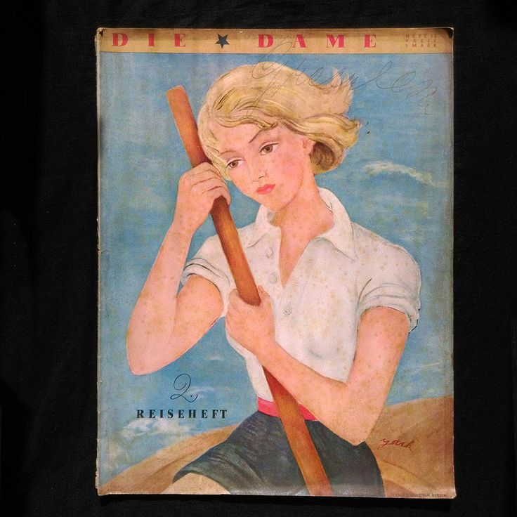 DIE DAME Zeitschrift Modezeitschrift 1936 selten (RARE Fashion Magazine-Art Deco For sale here:  https://www.ebay.com/sch/les-antiques/m.html?_nkw=&_armrs=1&_ipg=&_from=