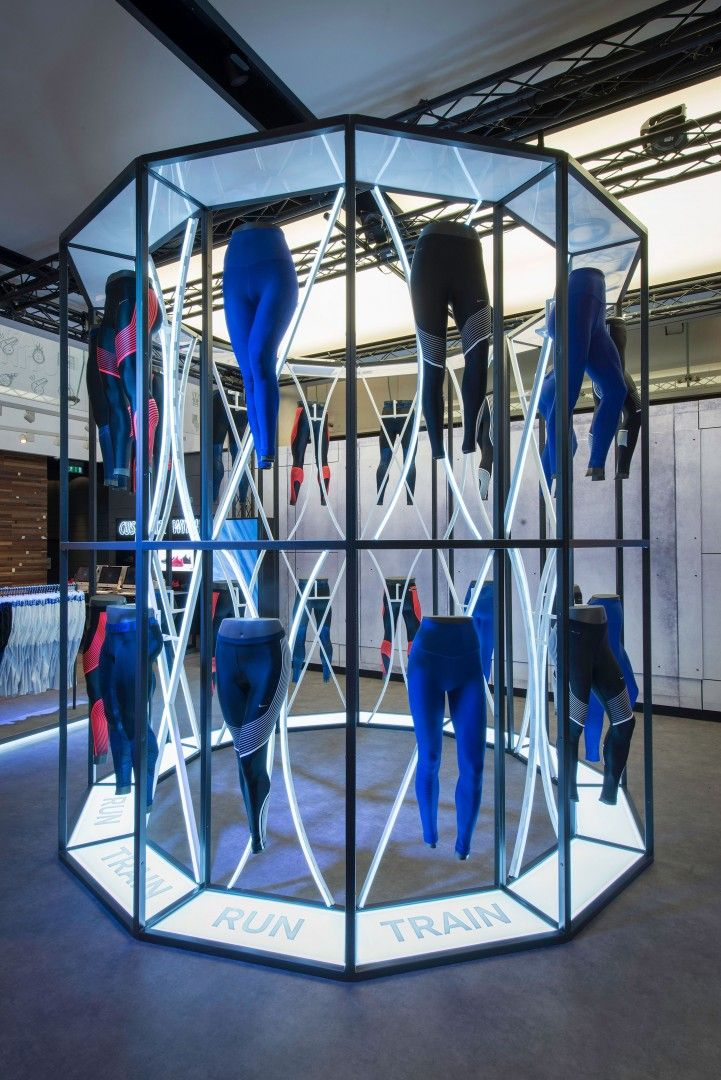 See Nike's tights in action through their experiential event.