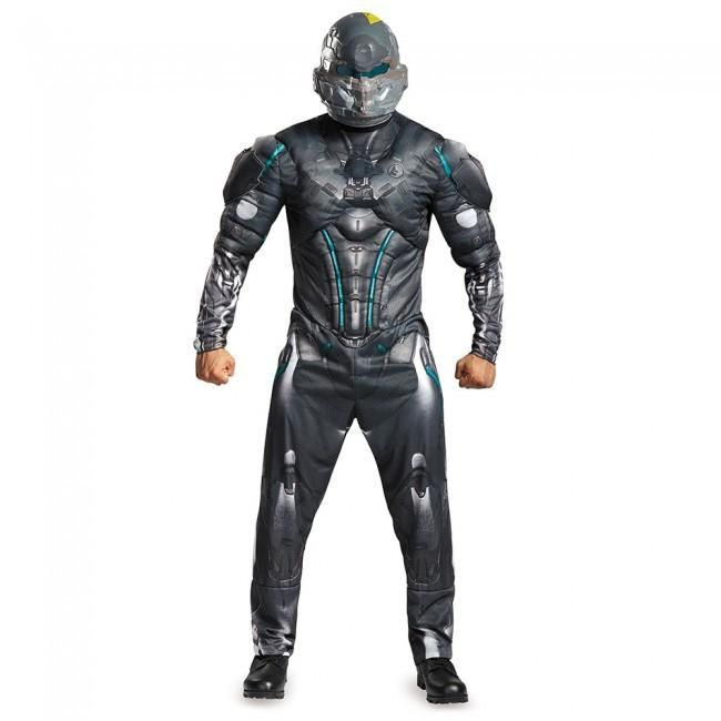 Overwatch Soldier 76 Classic Muscle Chest Child Boys Cosplay Costume SM-XL