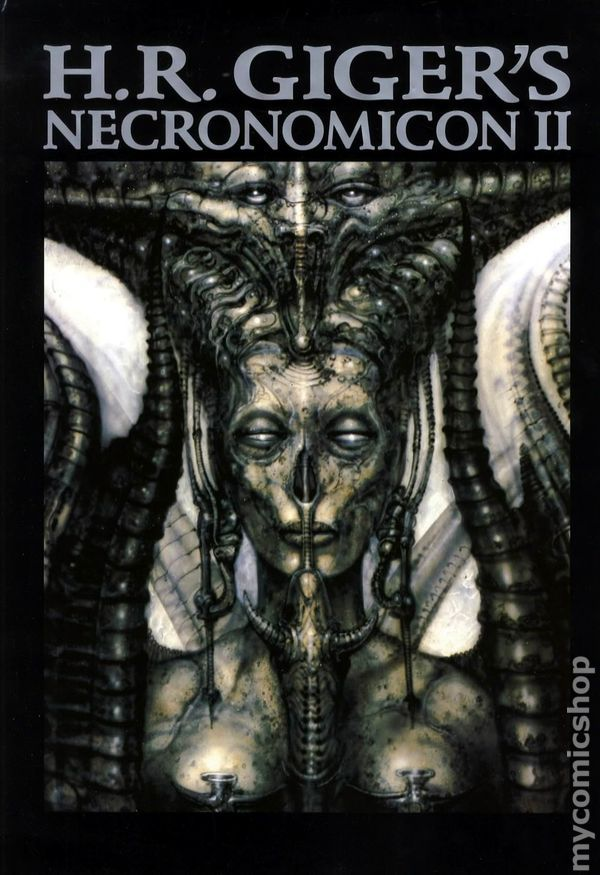 Giger's follow up to his first Necronomicon