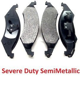 a front brake pads ford taurus lincoln continental mercury sable heavy duty