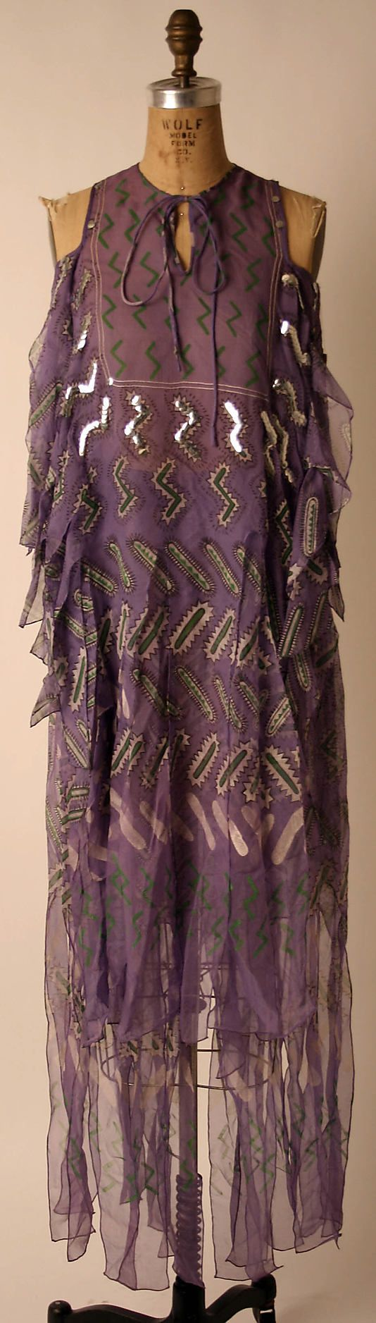 Bohemian style, 1971 // designer: zandra rhodes