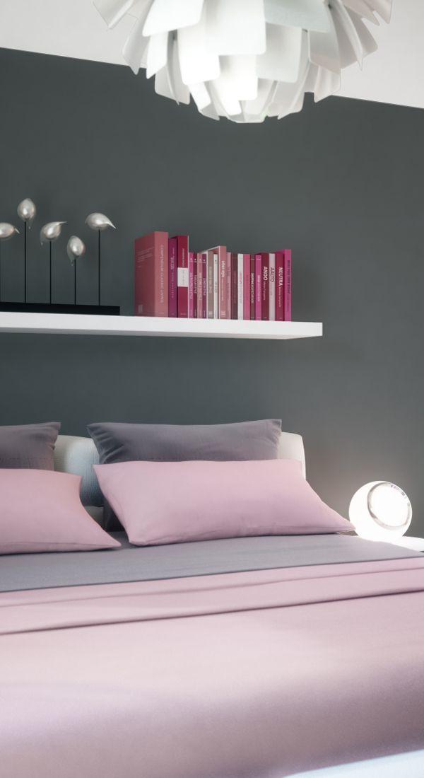 Moderne Pastelfarben und zeitloses Design. Hier lässt sich nicht nur entspannen, sondern auch gut präsentieren.   #Schlafzimmer #Fertighaus #BienZenker #Haus
