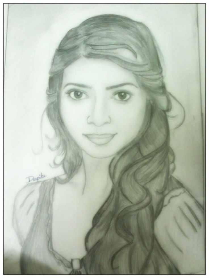 :) - Sketching by Deepika Nallam in my sketches  at touchtalent