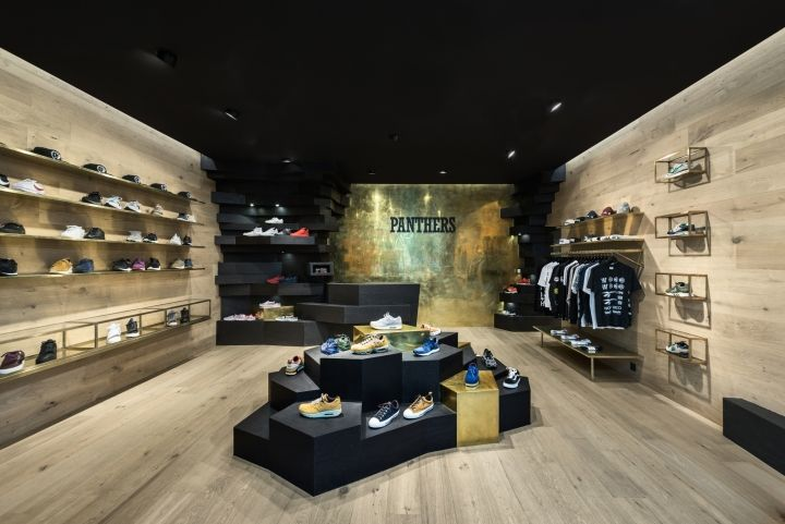 Panthers Brussels store by Joshua Florquin Architects, Brussels – Belgium » Retail Design Blog